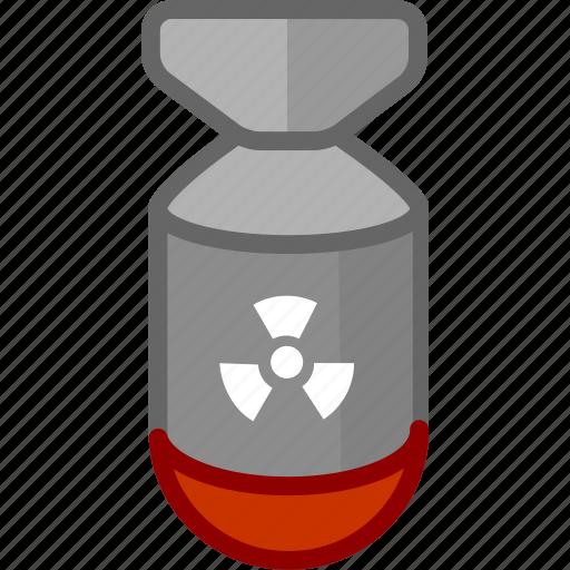 arm, armament, arms, bomb, firearm, nuke, weapon, weaponry icon