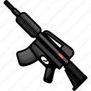 arm, armament, arms, firearm, m4a1, weapon, weaponry icon