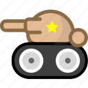 armament, armoring, armouring, tank icon
