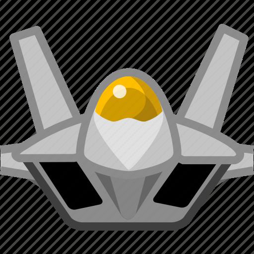 aeroplane, aircraft, airplane, arm, fighter, firearm, plain icon