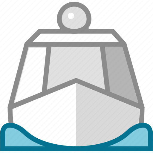 arms, sea, steamboat, steamship, warship, weapon, weaponry icon