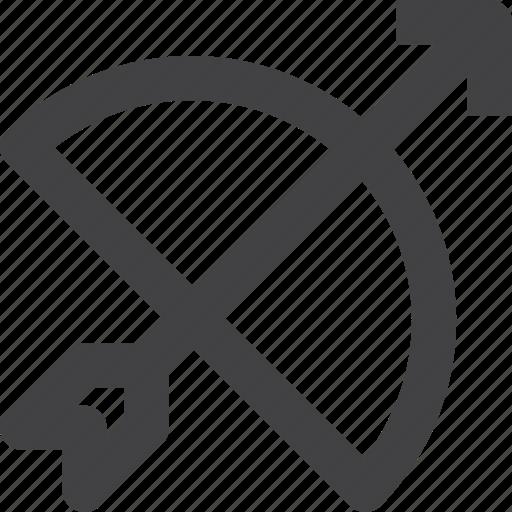 Archery, war, weapon icon - Download on Iconfinder