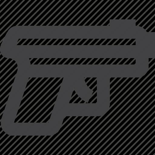 Gun, pistol, war, weapon icon - Download on Iconfinder