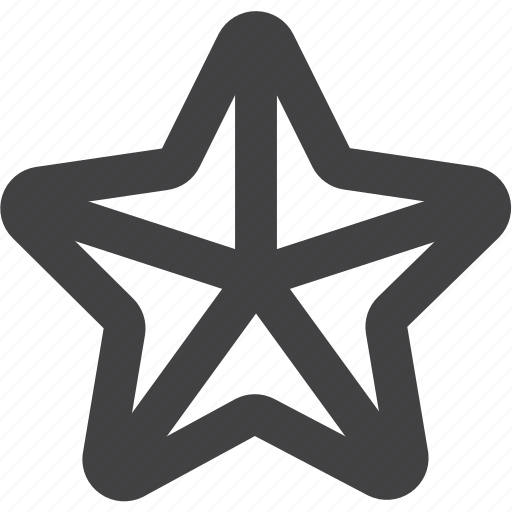 Badge, bookmark, favorite, police, star, war, weapon icon - Download on Iconfinder