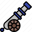 cannon, color, ultra, weapon, weaponry icon