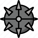 bomb, color, explosive, mine, ultra, weapon, weaponry icon