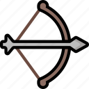 bow, color, ultra, weapon, weaponry icon