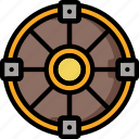 color, shield, ultra, weapon, weaponry icon