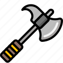 color, halberd, ultra, weapon, weaponry icon