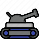 color, tank, ultra, weapon, weaponry icon