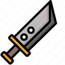 buster, color, sword, ultra, weapon, weaponry icon