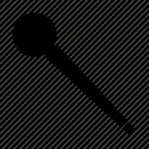 baton, microphone, orb, staff, stick, wand icon