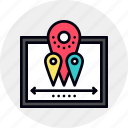 equipment, gps, location, navigation, navigational, pointer, system icon