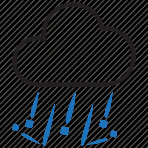 forecast, hail, weather icon