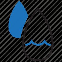 humid, humidity, precipitation icon