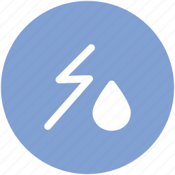 drop, power, storm, thunder, thunder bolt, thunder lightning, thunderstorm, weather icon