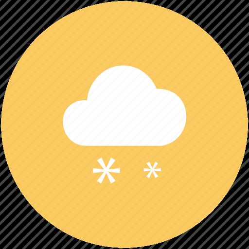 atmosphere, cloud, cloud snow, raindrops, raining, rainy, snow, snow falling, weather icon