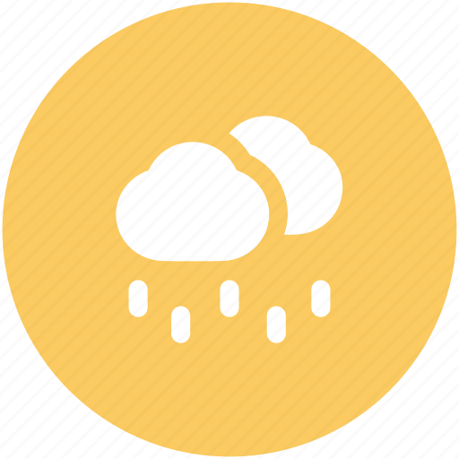 atmosphere, cloud, rain, raindrops, raining, rainy weather, weather icon