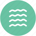lake, moisture, river, sea, tide, water, water waves icon