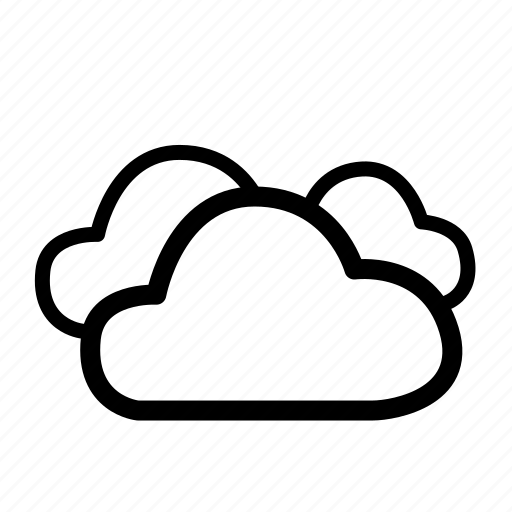 bad weather, climate, cloud, clouds, cloudy, computing, weather icon