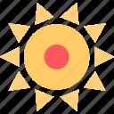 beautiful, hot, summer icon