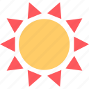 hot, planet, summer, sun icon