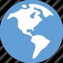 earth, internet, web, world icon