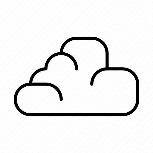 cloud, computing, connection, forecast, network, storage icon
