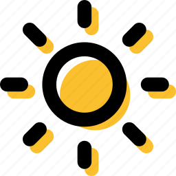 day, forecast, midday, summer, summertime, sun, sunlight icon