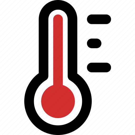 celsius, fahrenheit, heat, hot, summer, thermometer icon