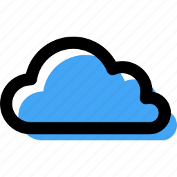 cloud, computing, forecast, overcast, sky, weather icon