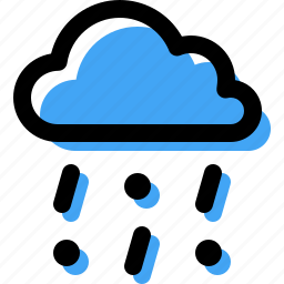 cloud, forecast, frozen, mixed, rain, snow icon