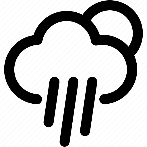 autumn, climate, drizzle, pour down, rain, rainy, wheater icon