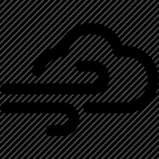 climate, fog, foggy, wheater, wind, windy icon