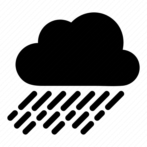cloud, cloudy, rain, thunder, weather icon