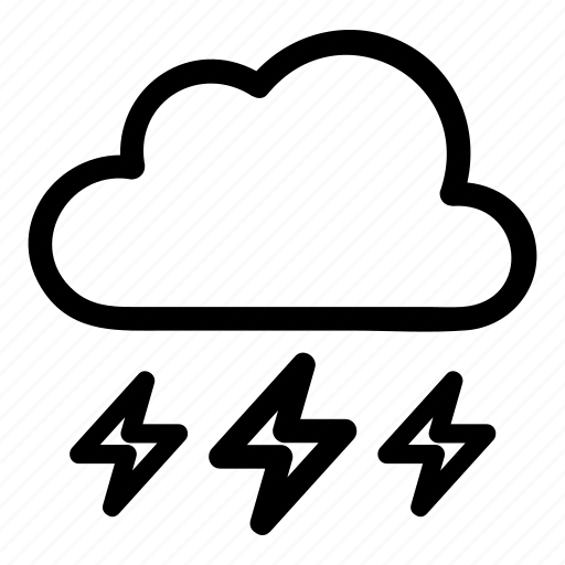 cloud, day, lightening, night, thunder, thundercloud2, weather icon