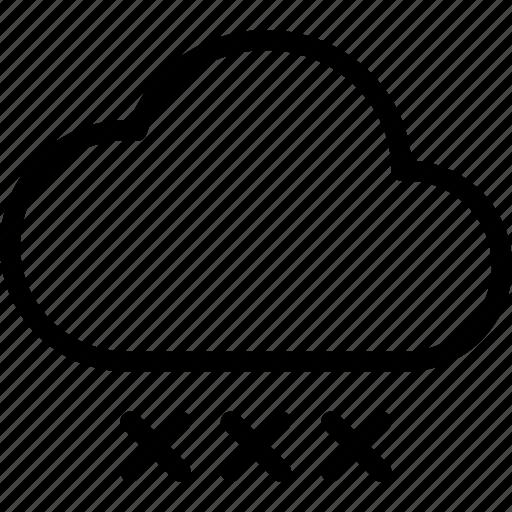 drop, rain, storm, water icon