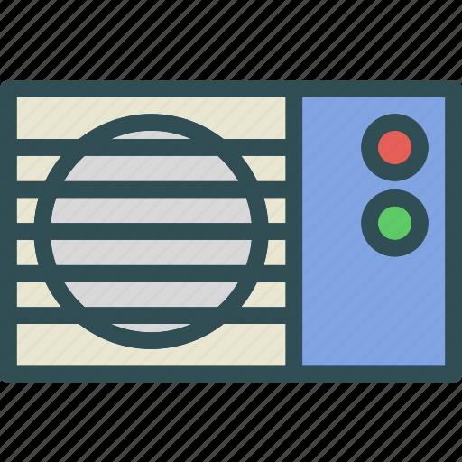 ac, air, conditioner, flow, unit icon