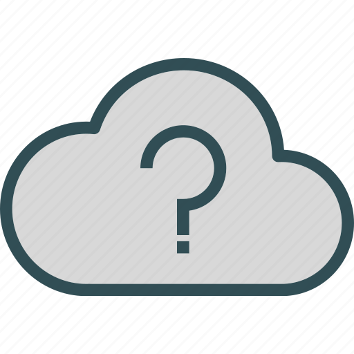 clouds, moon, night, questionweather, stars icon