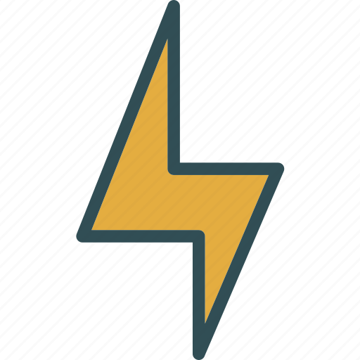 bolt, lighting, storm, thunders, weather icon
