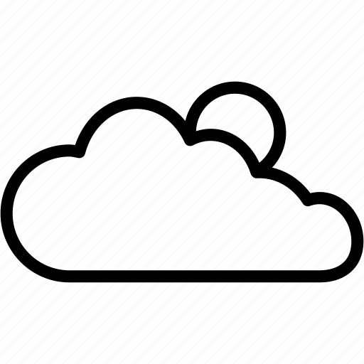 Cloud, sun, day, forecast, sunny, warm, weather icon - Download on Iconfinder