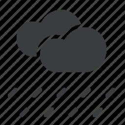 cloud, cloudy, forecast, heavy, rain, rainfall, weather icon