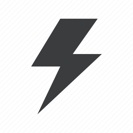 flash, forecast, light, lightning, thunder, weather icon
