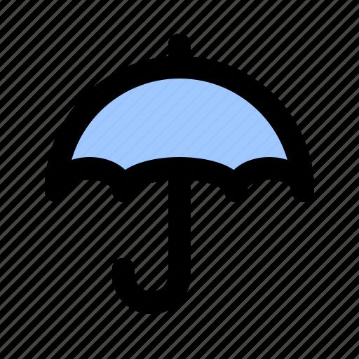 parasol, protection, rain, sunshade, umbel, umbrella, weather icon