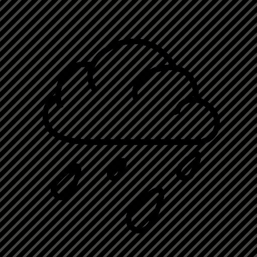 meteorology, rain, sky, weather icon