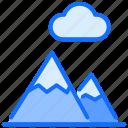 mountain, landscape, nature, adventure