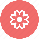 christmas, cold, decoration, snow, snowflake, snowflake winter, winter icon
