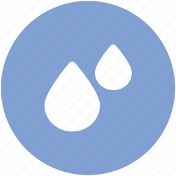 drops, raindrops, raining, water droplet, water drops icon