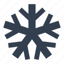 cold, crhistmas, forecast, meteorology, snow, snowflake, weather, winter icon