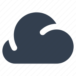 cloud, computing, dark, forecast, meteorology, rainy, weather icon